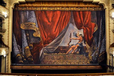 opera curtains georgia s opera curtain as bright as the world s best