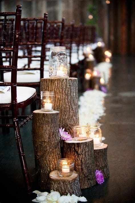 Wedding Aisle Lantern Ideas by Best 25 Wedding Aisle Candles Ideas On Winter