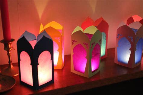 Paper Lantern Craft Template - image gallery moroccan paper lantern template