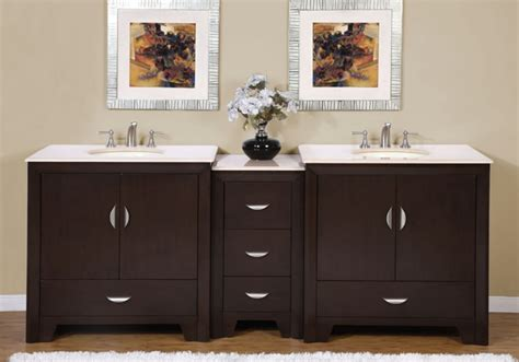 90 inch modern bathroom vanity with choice of