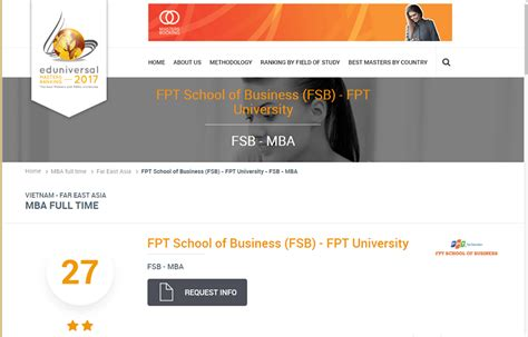 Top 30 Mba Programs by Fsb Reached The Top 30 Best Time Mba Programs In The