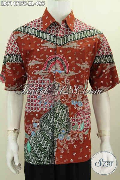 Supplier Baju Jawa Tengah jual kemeja batik premium furing untuk pria dewasa pakaian batik berkelas khas jawa tengah