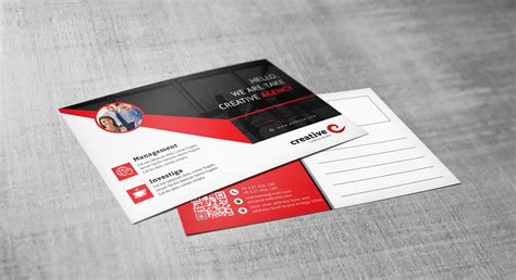 Ares Professional Corporate Postcard Template 001545 Template Catalog Professional Postcard Templates