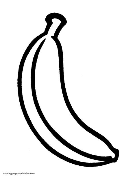 fruit for preschoolers free coloring pages on art