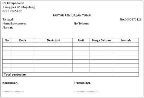Contoh Surat Pemintaan Barang Beserta Klasifikasinya pengertian faktur dan contohnya secara lengkap