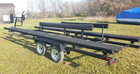 pontoon trailer rental cadillac mi wolverine boat trailers autos post
