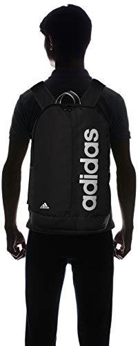 Adidas Luc Linear Logo Backpack adidas linear bag pack dez38 aj9936 black black white