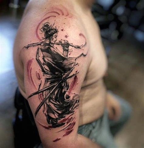 watercolor japanese tattoos 30 tattoos for ancient japanese warrior design