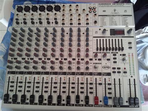 Mixer Behringer Ub1832fx Pro behringer eurorack ub1832fx pro image 620706 audiofanzine