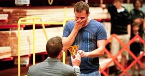 lol hilarious  meme shows men proposing  delicious