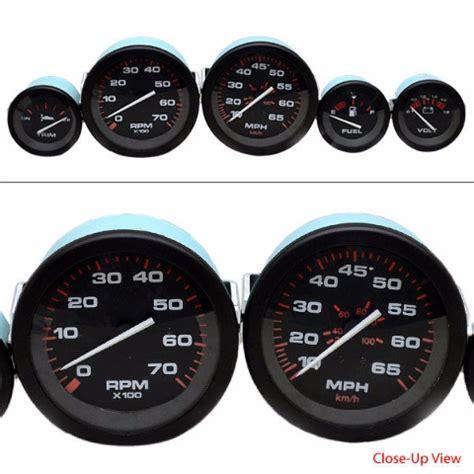 boat gauges set uk teleflex amega mercury volvo yamaha 5 piece inboard ob