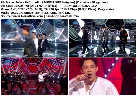 download mp3 exo lotto download perf exo lotto sbs inkigayo 160821