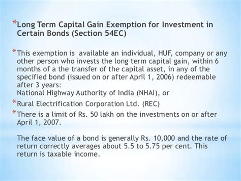 capital gains tax bonds and section 54ec capital gains tax bonds and section 54ec 28 images