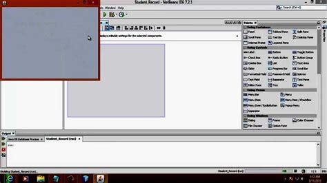 netbeans tutorial database application creating database application in netbeans 1 4 doovi