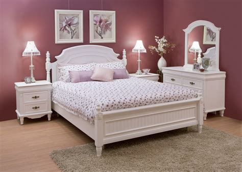 Decorating Bedroom Furniture by White Bedroom Furniture Decorating Ideas This For All