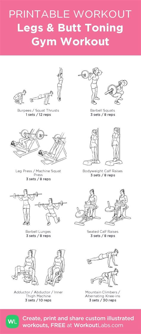 Galerry printable exercise program Page 3