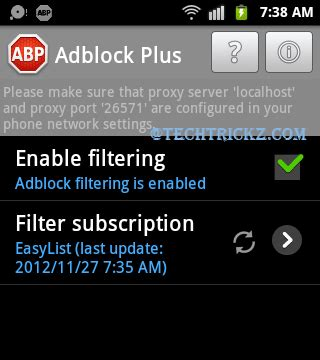 adblock plus for android adblock plus for android blocks all annoying ads on your phone no root required techtrickz