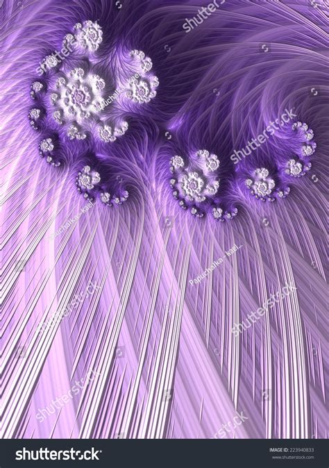Wedding Background Design Purple by Wedding Invitation Card Purple Floral Fractal Stock