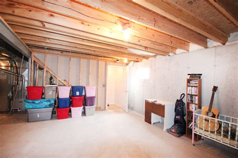 cleaning out the basement how to nest for less