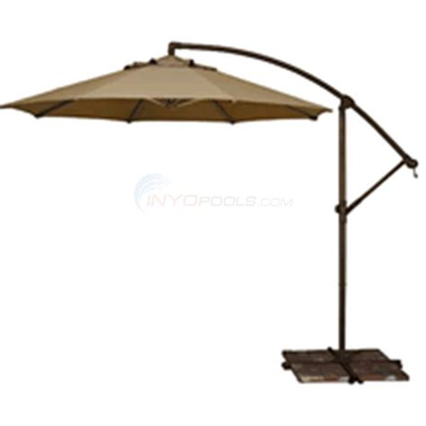 Patio Umbrella Parts Suppliers Tobago Cantilever Umbrella 10 Chagne Olefin Nu5400ch Inyopools