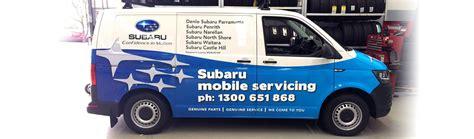 subaru minivan 2016 subaru to take mobile service offer to customers