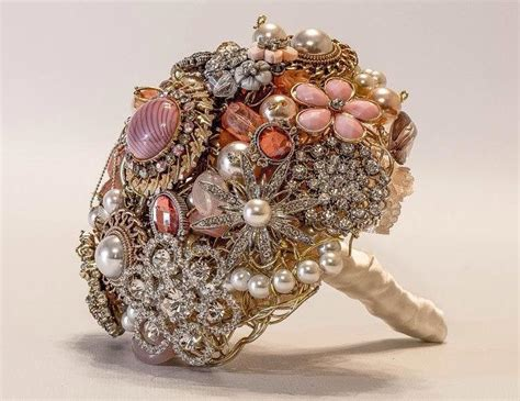 Order Bridal Bouquet by Bespoke Wedding Brooch Bouquet Made To Order Bridal