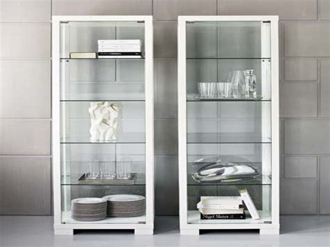White Display Cabinet With Glass Doors White Display Cabinet With Glass Doors Edgarpoe Net