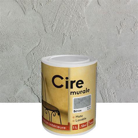 Peinture Ciree Sur Mur by Peinture 224 Effet Id Cire B 233 Ton 1 L Leroy Merlin