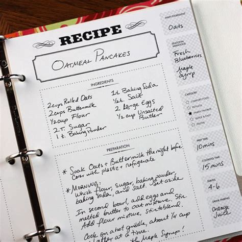 best 20 cookbook template ideas on pinterest