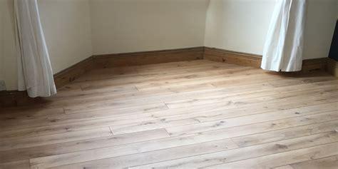 Rustic Oak Flooring Installation Birmingham
