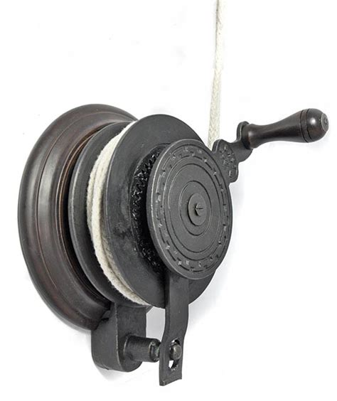 boat winch pulley pulley clothes airer hand winch