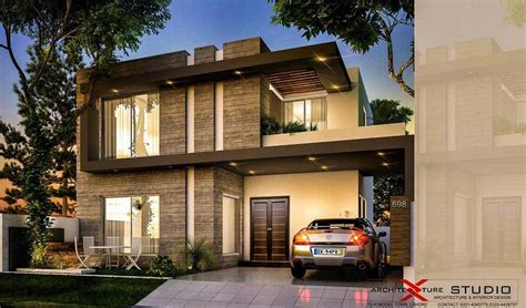 home design for 10 marla in pakistan contemporary house design by architexture studio 10