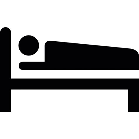 bed icon person sleeping on a bed icons free download