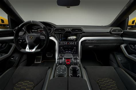 suv lamborghini interior lamborghini urus suv makes 650 horsepower autotribute