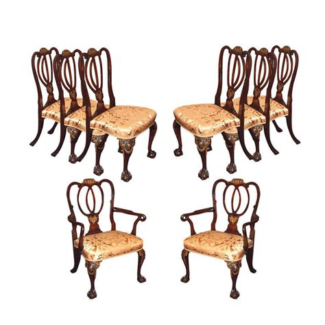 antique mahogany dining room furniture set of 8 antique mahogany dining room chairs for sale at 1stdibs