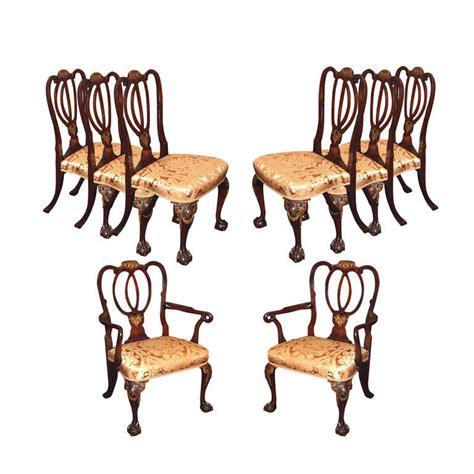 antique mahogany dining room furniture set of 8 antique english mahogany dining room chairs for