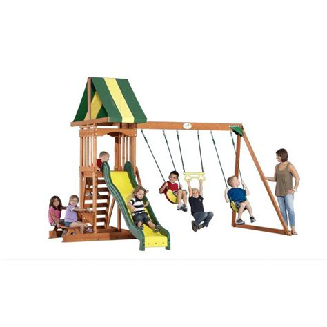 Backyard Discovery Yukon Iii Cedar Swing Set Backyard Discovery Yukon Iii 28 Images Backyard