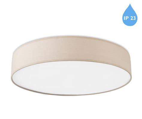 Small Led Ceiling Lights by Leds C4 Bol Ip23 Led Small Flush Ceiling Light Beige