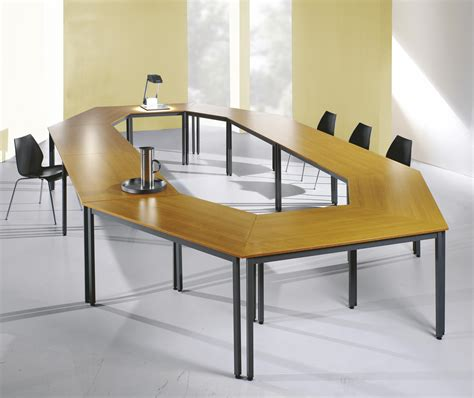 buro table cheap trapezoidal tables buro 1200mm reality