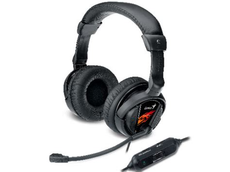 Headset Gaming Genius Hs G500v genius hs g500v gaming headset launched with vibration