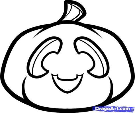 drawing of a pumpkin for how to draw a chibi pumpkin clipart panda free