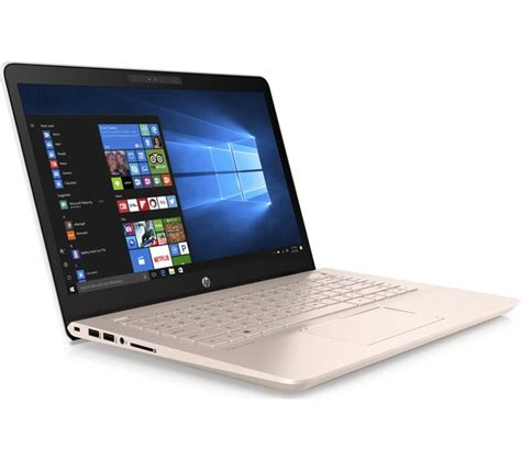 Hp Lenovo Gold buy hp pavilion 14 bk069sa 14 quot laptop white gold free delivery currys