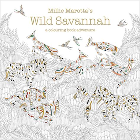 millie marotta s wild savannah free pattern download whsmith blog