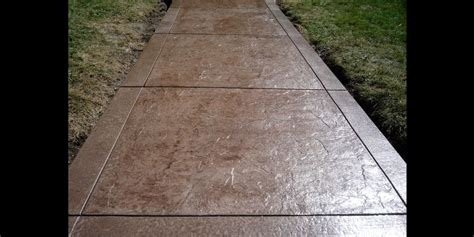 Decorative Concrete Walkways by Gallery Of Custom Decorative Sted Concrete Sidewalks