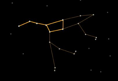 great constellation into autumn the big dipper wilderutopia