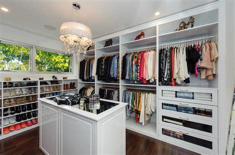 Best Closets Mirror Top Closet Island With Chandelier