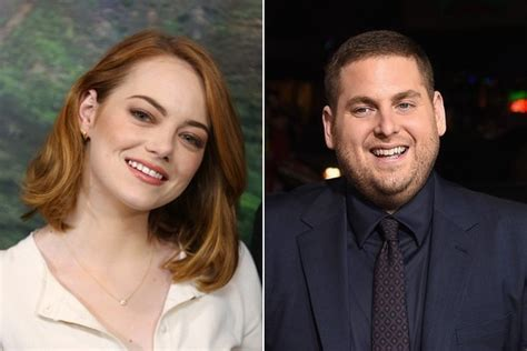 emma stone jonah hill emma stone and jonah hill team up for a tv series called