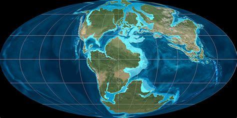 jurassic map america universobservado pangea