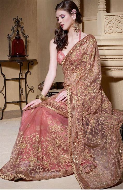 hairstyles in net saree latest trending saree styles