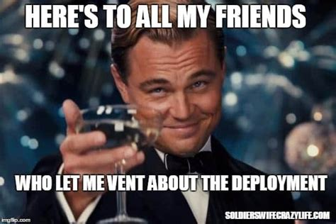 Deployment Memes - what to do when your spouse gets last minute deployment